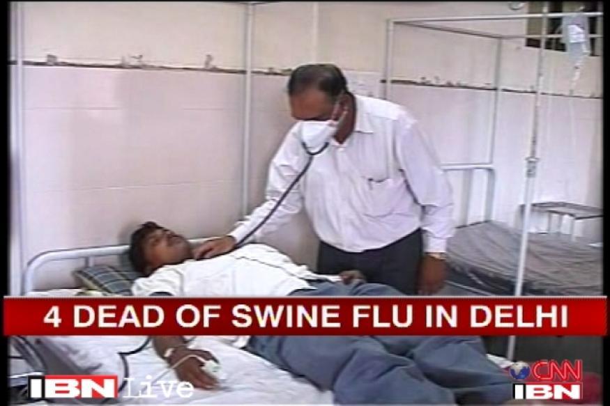 Swine flu kills 3 in Delhi, 1 in Gurgaon