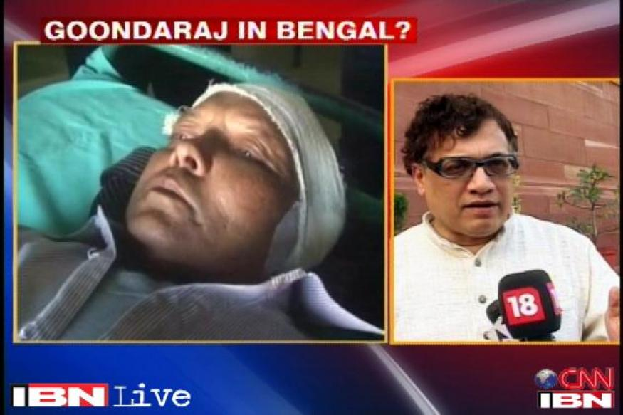 TMC claims its workers did not chop off panchayat member's ear