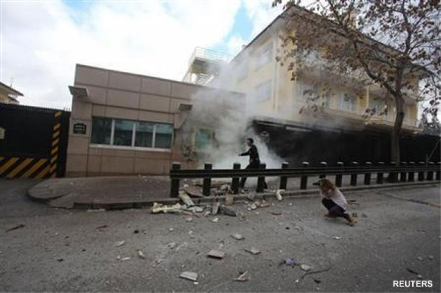 Turkish leftist group claims US embassy bombing: Website