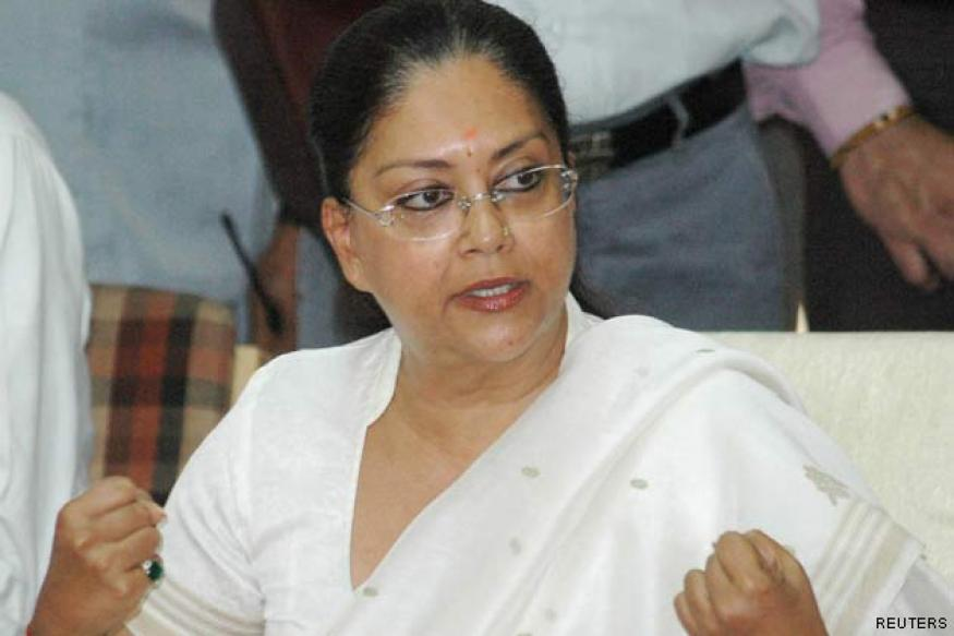 Raje takes over as BJP President in Rajasthan