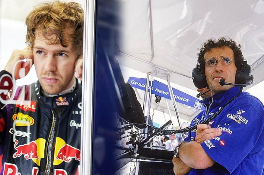 Prost expects Vettel to equal his title tally