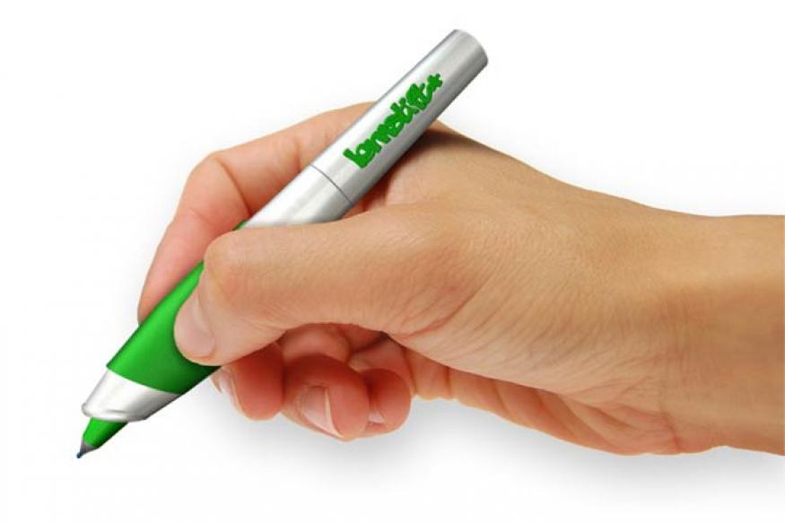 Now, a smart pen that vibrates when you make a grammatical error