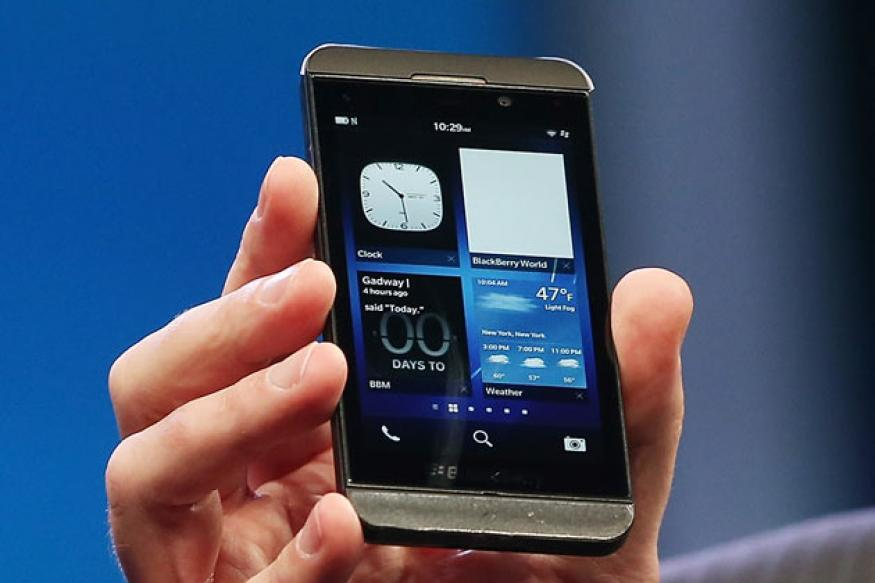 BlackBerry encouraged by early sales of Z10