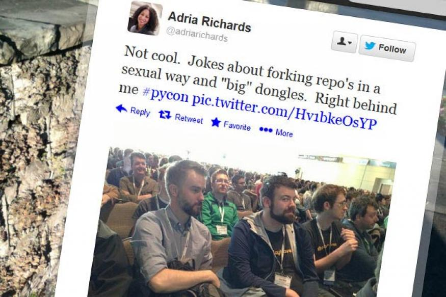 Female developer fired after tweeting about men's sexual comments