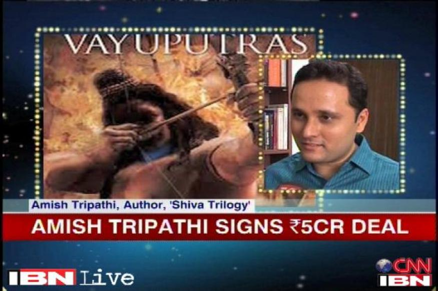 My books are a small contribution to Shiva's glory: Amish Tripathi