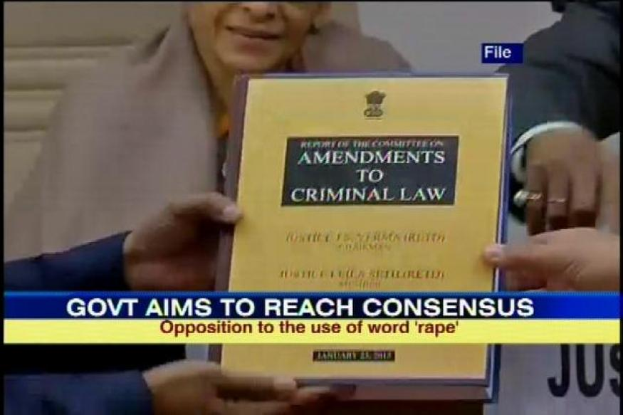 Cabinet meet on anti-rape law begins