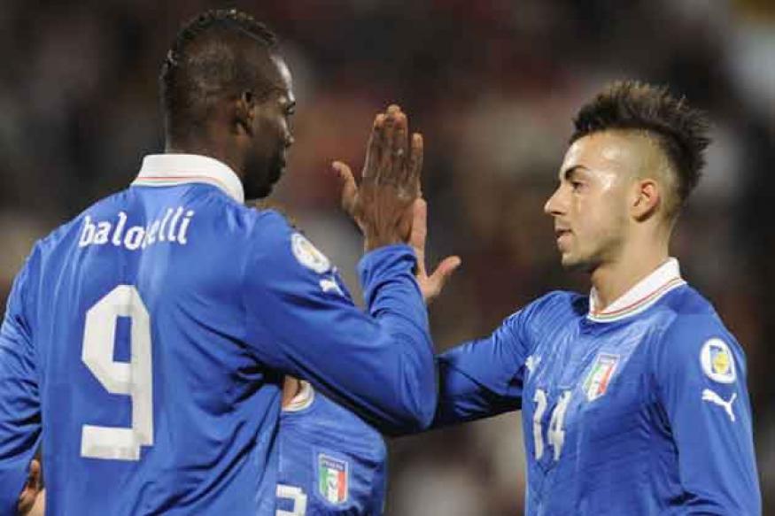Balotelli scores twice as Italy win in Malta