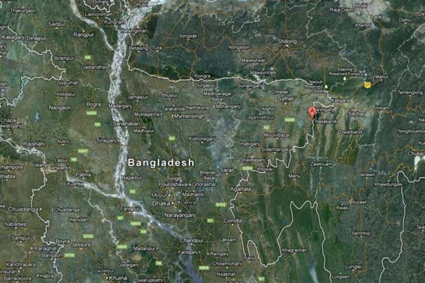 5.2 earthquake jolts India-Bangladesh border