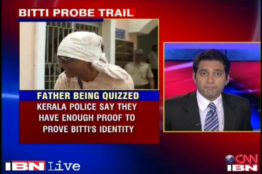 Bitti's father quizzed by Kerala police