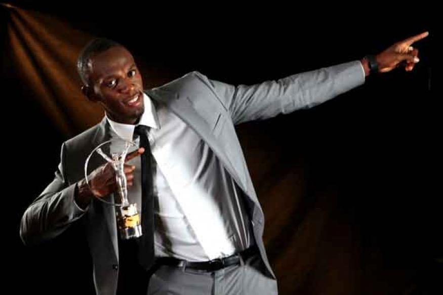 Usain Bolt wins Laureus Award for sportsman of the year
