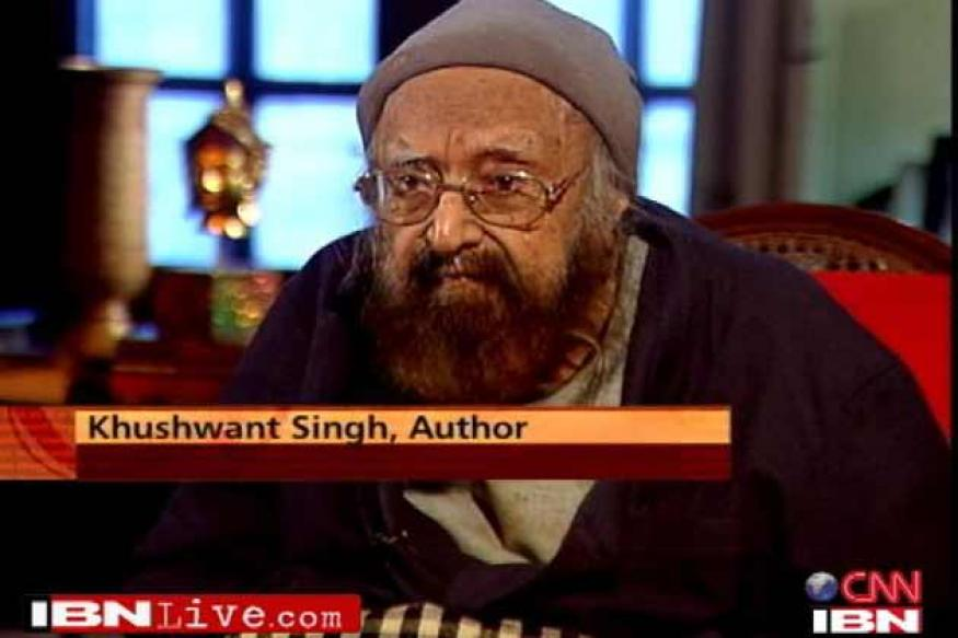 I have always been a bit of a lecher: Khushwant Singh