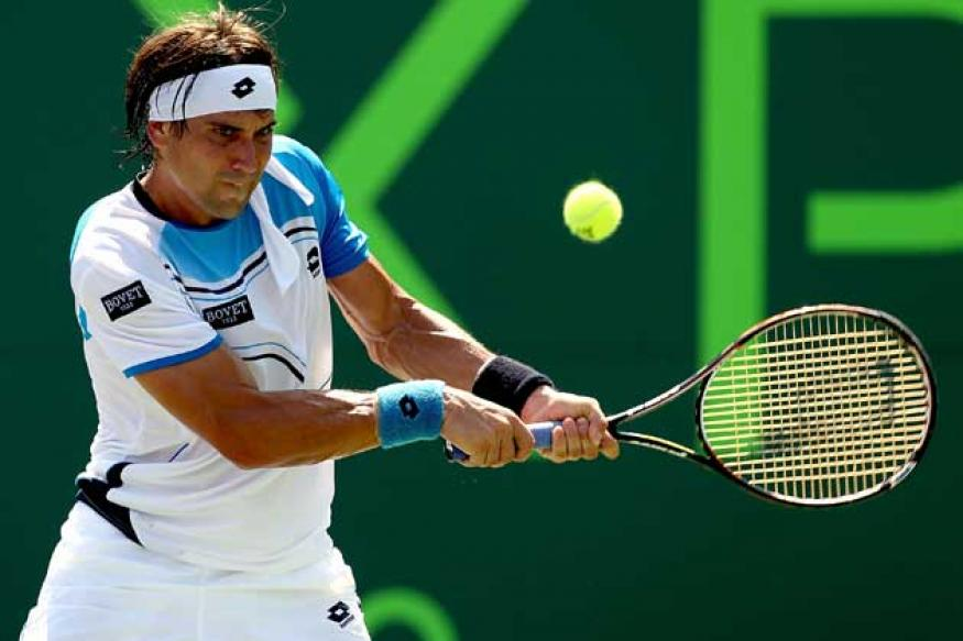 David Ferrer reaches 4th round at Miami Masters
