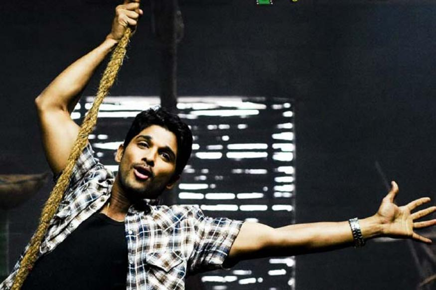 Telugu actor Allu Arjun completes ten years in cinema