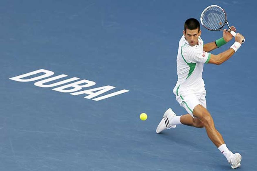 Djokovic beats del Potro to enter Dubai Championships final