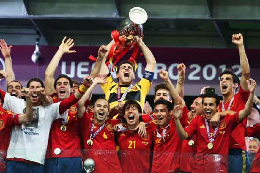 Spain still lead FIFA rankings; India rise to 143
