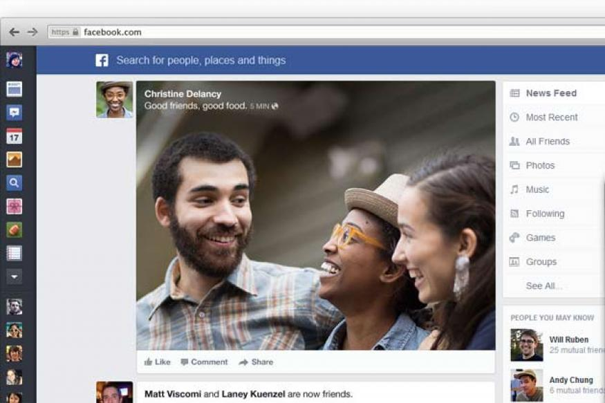 Facebook unveils new News Feed inspired by newspapers and mobile
