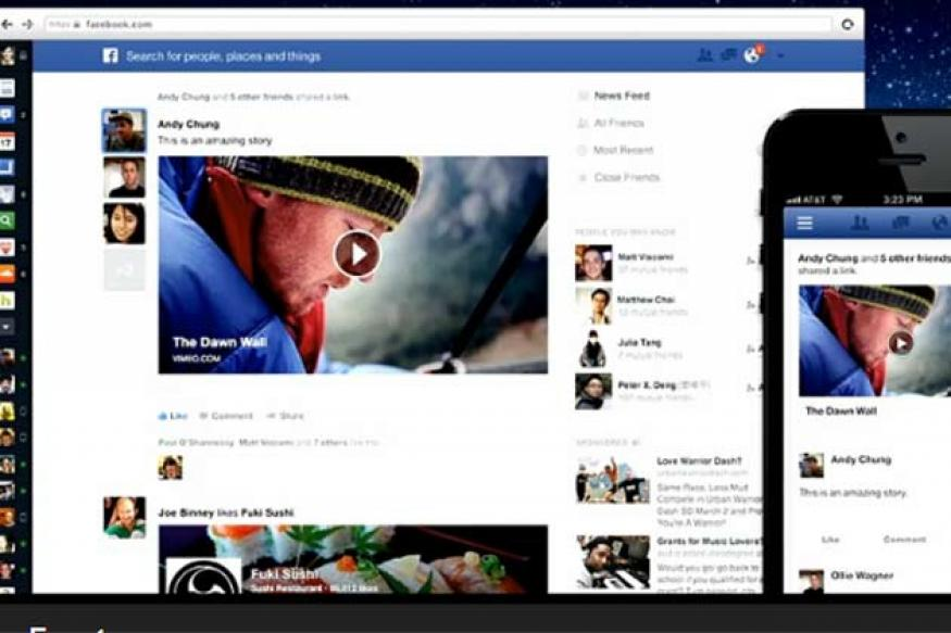Facebook puts focus on photos in new News Feed redesign