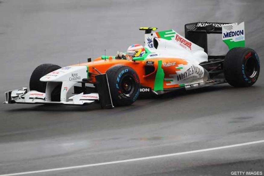 Sutil ninth fastest in rain-hit Malaysian GP qualifying