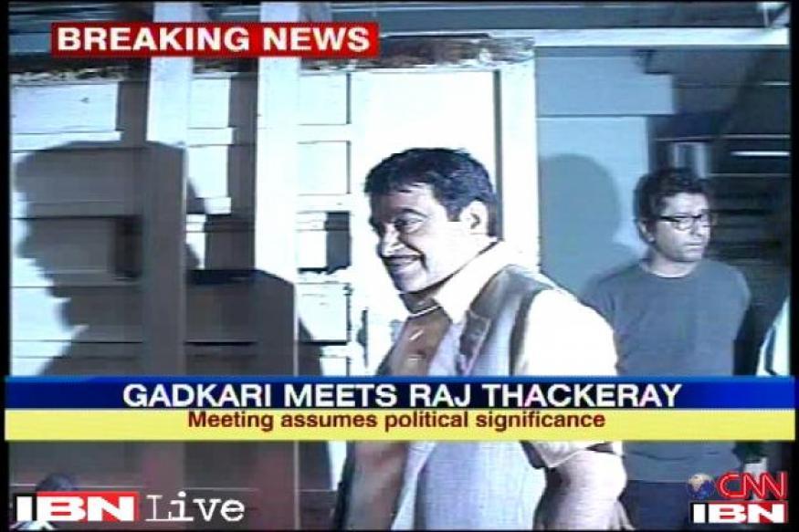 Mumbai: Nitin Gadkari meets Raj Thackeray