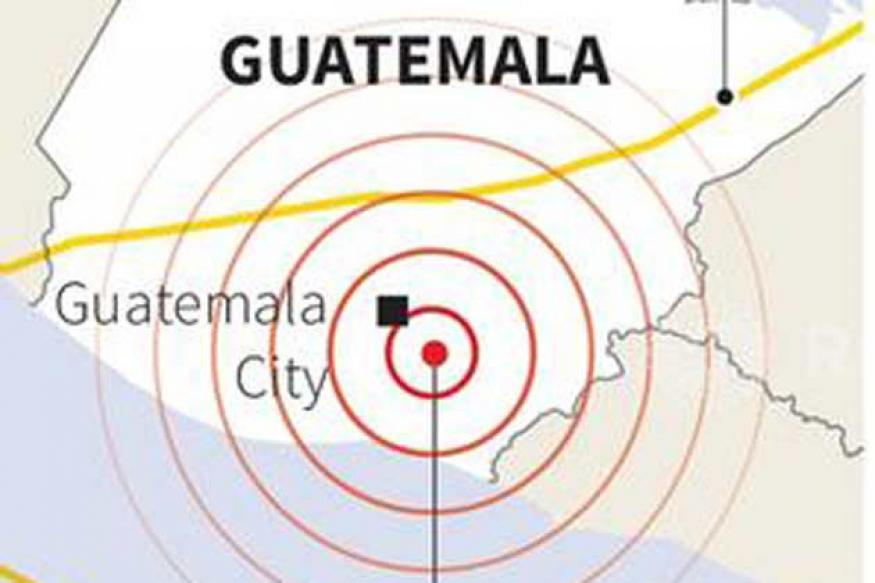 6.2 magnitude earthquake hits near Guatemala City