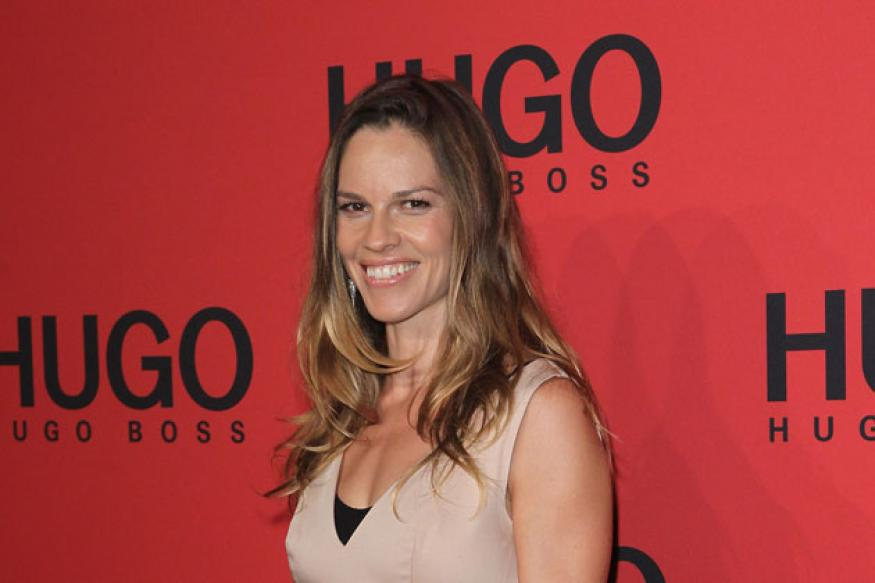 Mother taught me to overcome problems: Hilary Swank