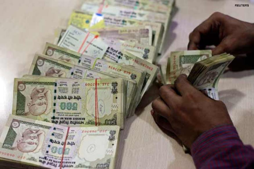 Rupee down 16 paise vs dollar in early trade