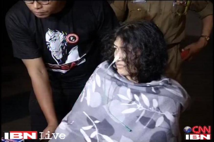 Irom Sharmila appears before Delhi court