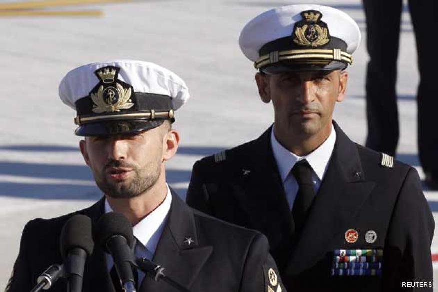 Marines' return to India stirs anger in Italy