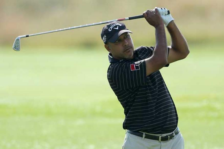 Jeev Milkha Singh 3rd in Tshwane Open after first round