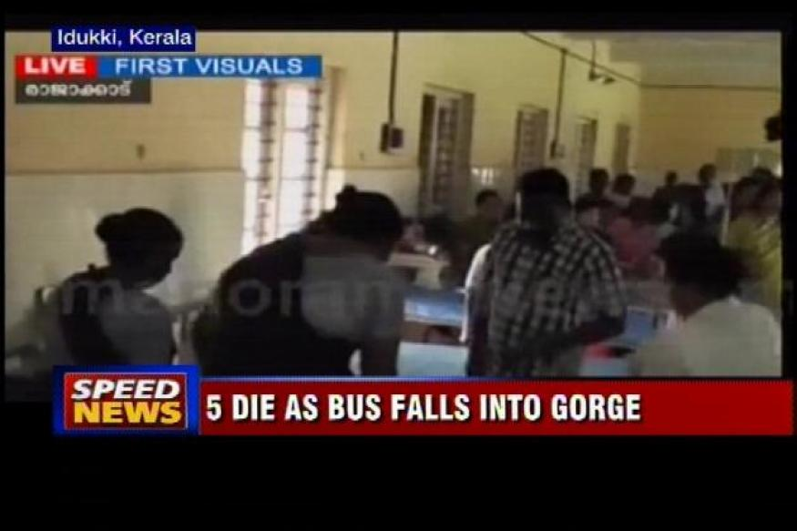 Kerala: 5 engineering students dead in bus accident