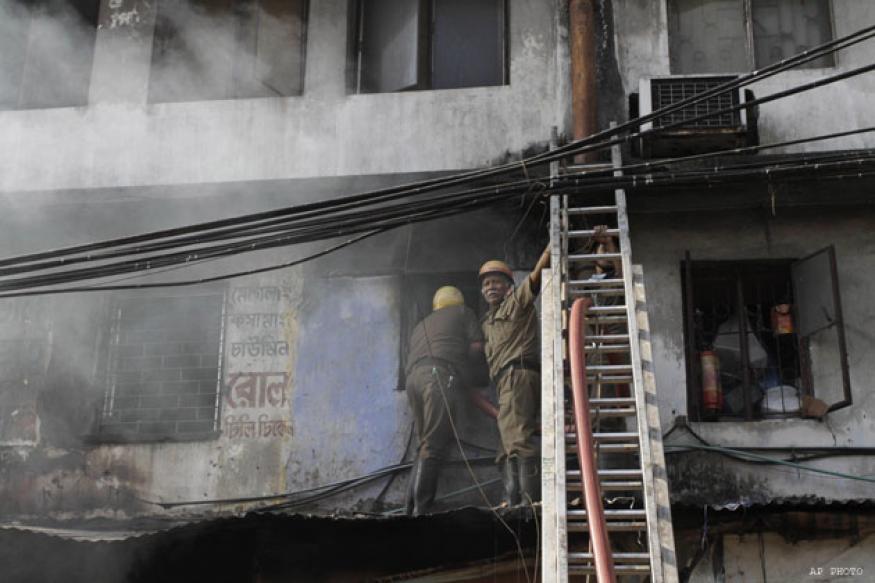 Death toll in Kolkata market fire rises to 21