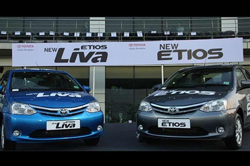 New Toyota Liva, Etios launched in India at Rs 4.46 onwards