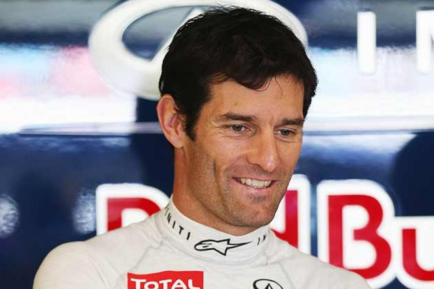 Mark Webber fastest in opening practice in Malaysia
