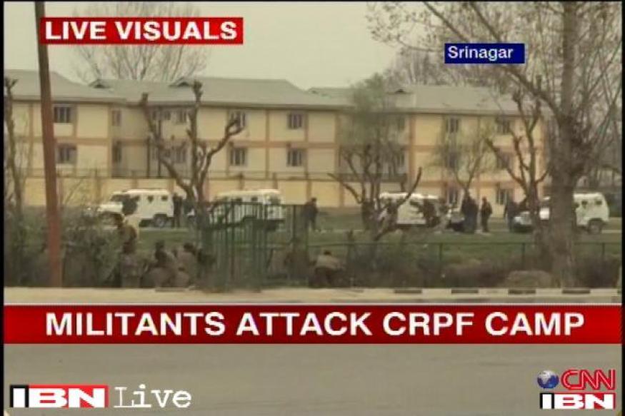J&K: Attack at CRPF camp, 5 jawans, 2 terrorists killed
