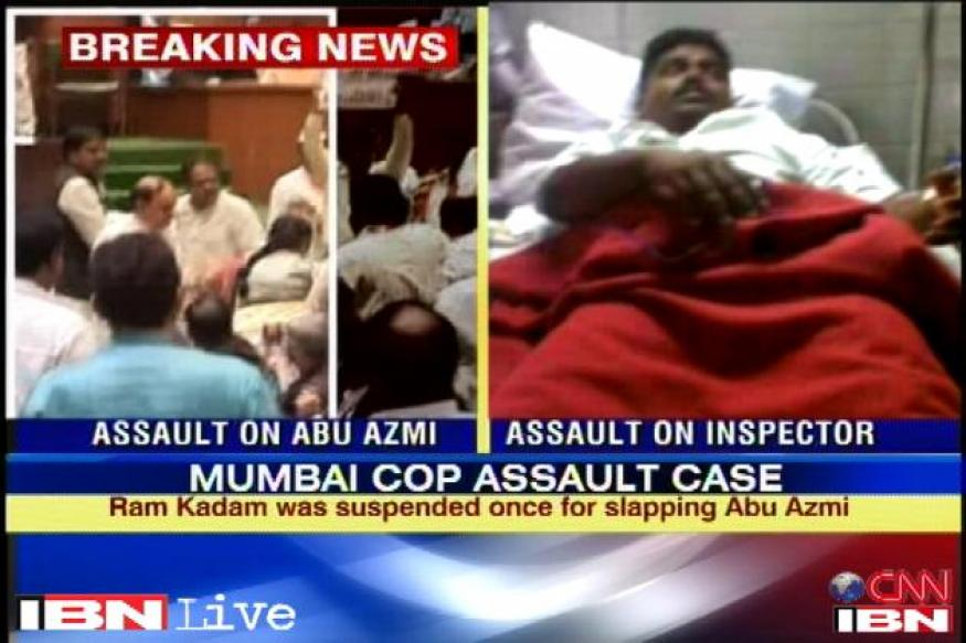 Maha: MLAs who assaulted policeman sent to judicial custody