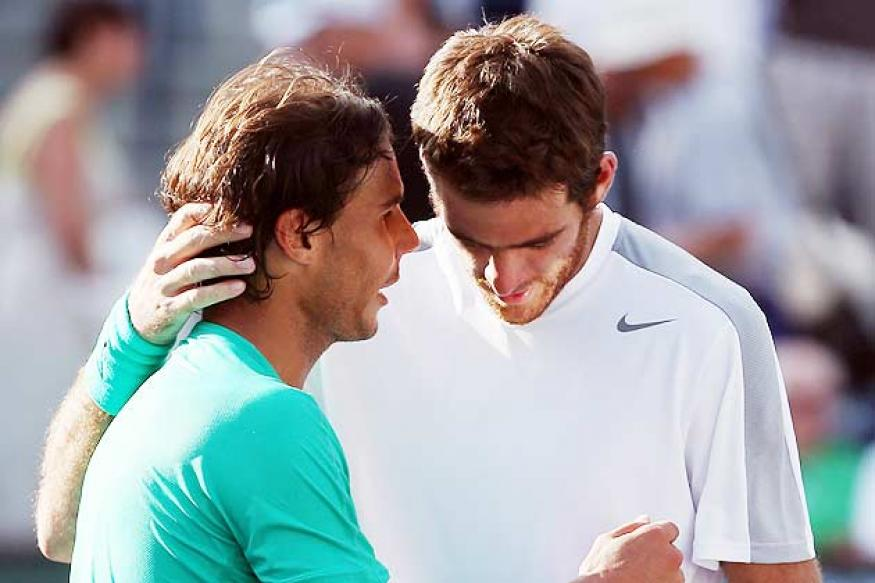 Nadal deserved title, says disappointed del Potro