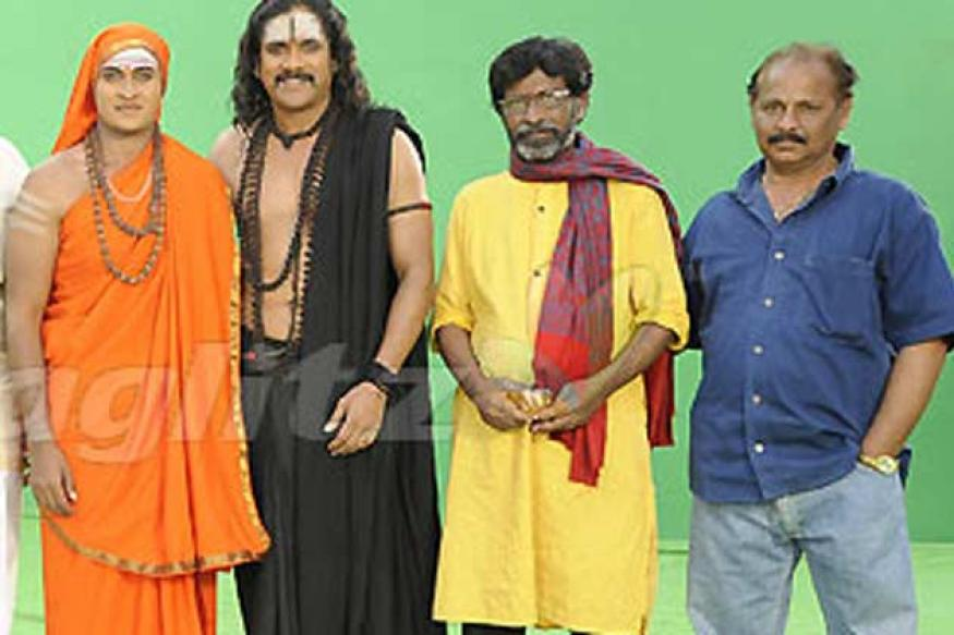 Nagarjuna to play 'Aadhi Shankara' in Bharavi's next