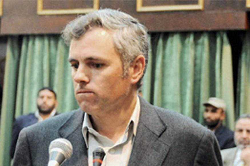 Snapshot: Chief Minister Omar Abdullah breaks down inside Jammu and Kashmir Assembly