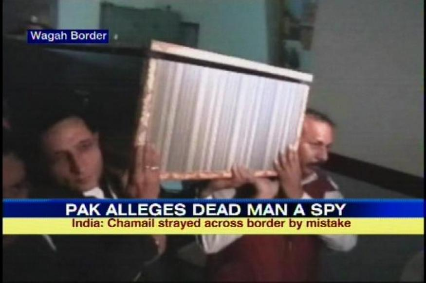 Pak hands over Indian's body, alleges he man was a spy