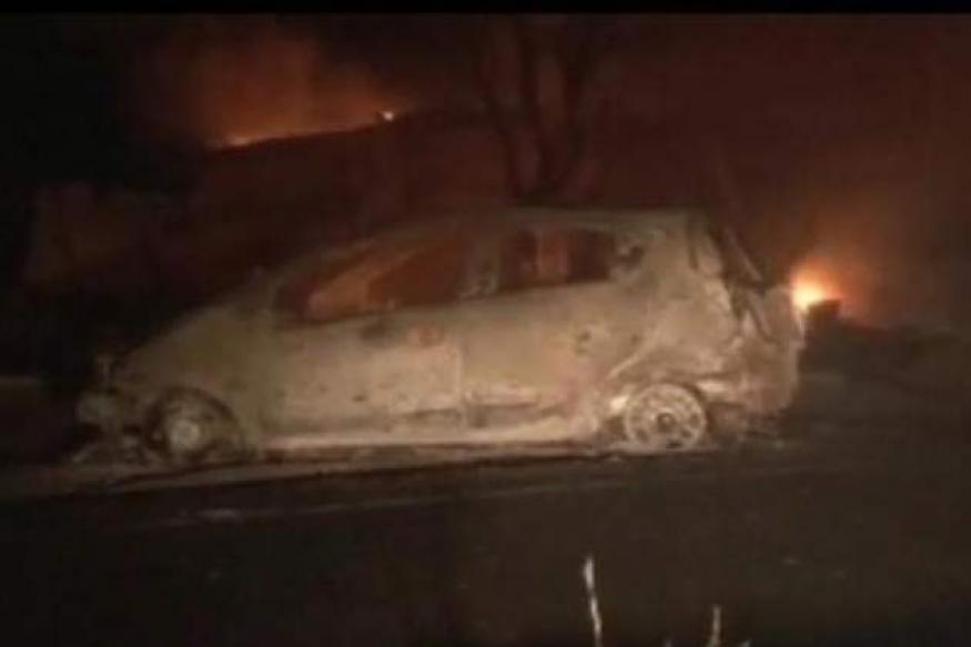 Pune: Massive fire at petrol pump after car-gas tanker collission