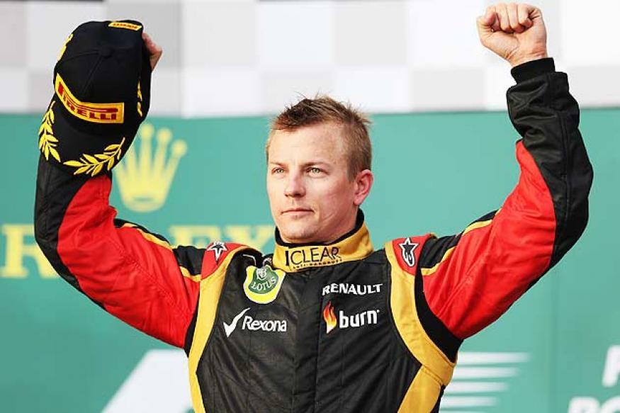 Lotus' Kimi Raikkonen wins Australian Grand Prix