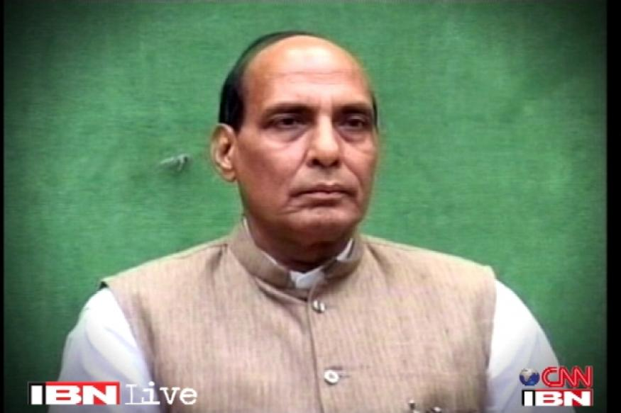 BJP has Advani to guide it, says Rajnath Singh