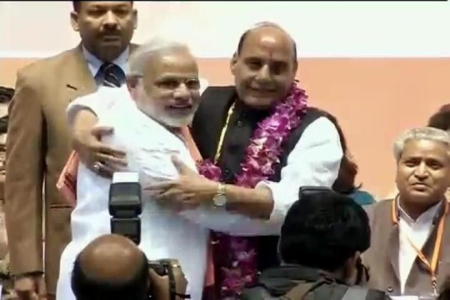 Modi popular, but party undecided on PM candidate: Rajnath Singh