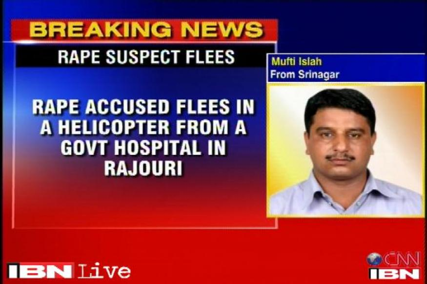 Rape accused who escaped in a VVIP chopper arrested