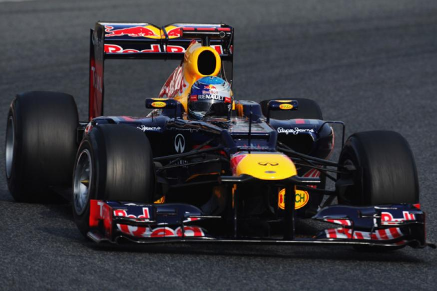 Red Bull duo angered by tyre situation in Sepang