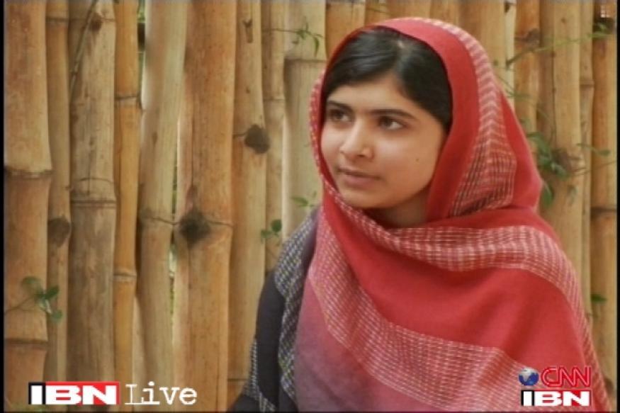 Malala Yousafzai goes back to school