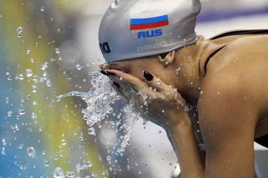 Russian champion swimmer Moskvina handed six-year doping ban