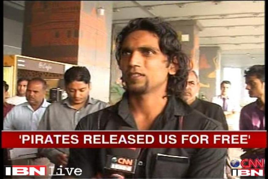 Rescued Indian sailor says 'Govt didn't help us'