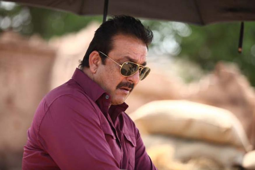 Snapshot: Sanjay Dutt spotted shooting for 'Policegiri'
