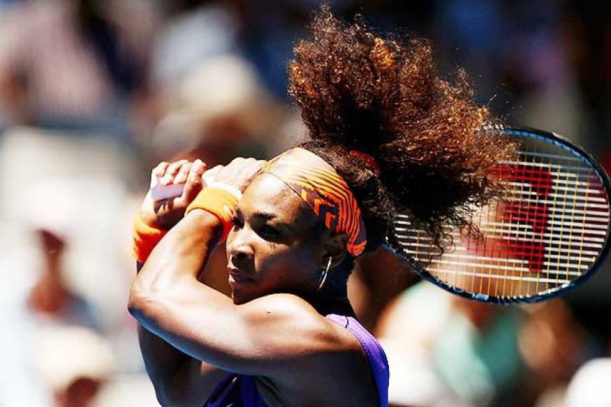 Serena Williams storms into fourth round of Sony Open